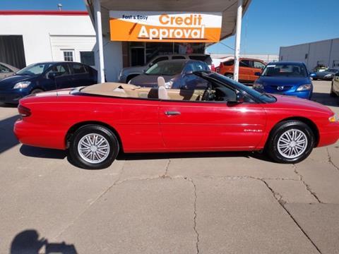 1997 Chrysler Sebring For Sale Carsforsale Com