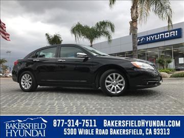 2013 Chrysler 200 for sale in Bakersfield, CA