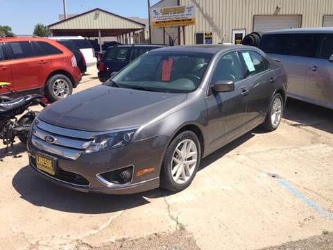 2012 Ford Fusion for sale in Garrison, ND