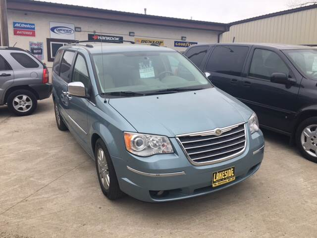 2010 Chrysler Town And Country Limited 4dr Mini Van In Garrison Nd