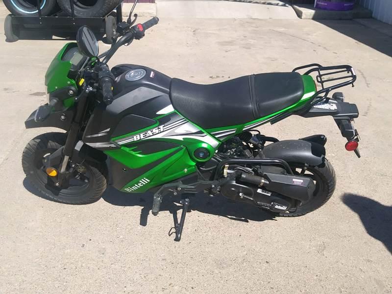 2018  Bintelli Beast 50cc for sale at Lakeside Auto & Sports in Garrison ND