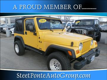 2004 Jeep Wrangler for sale in Yorkville, NY