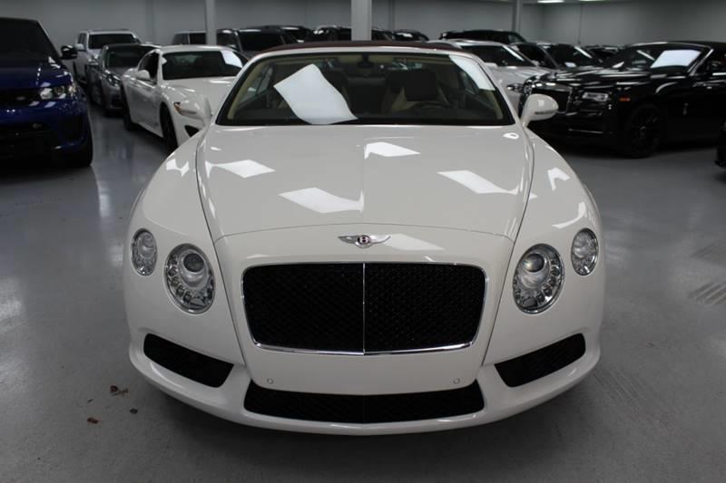 2013 Bentley Continental Gt V8 In Woodbury Ny Sz Motorcars