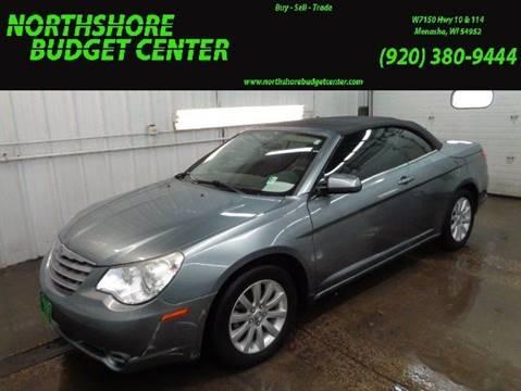 2010 Chrysler Sebring for sale at Northshore Budget Center, LLC in Menasha WI