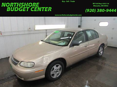 2004 Chevrolet Classic for sale at Northshore Budget Center, LLC in Menasha WI