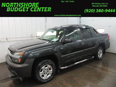 2003 Chevrolet Avalanche for sale at Northshore Budget Center, LLC in Menasha WI