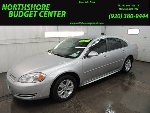 2013 Chevrolet Impala for sale at Northshore Budget Center, LLC in Menasha WI