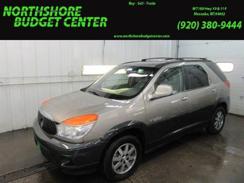 2002 Buick Rendezvous for sale at Northshore Budget Center, LLC in Menasha WI