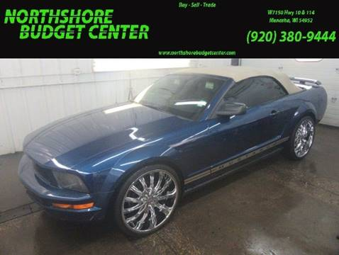 2006 Ford Mustang for sale at Northshore Budget Center, LLC in Menasha WI