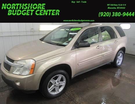 2005 Chevrolet Equinox for sale at Northshore Budget Center, LLC in Menasha WI