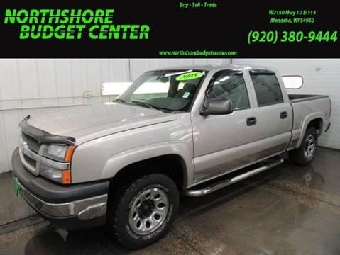 2005 Chevrolet Silverado 1500 for sale at Northshore Budget Center, LLC in Menasha WI