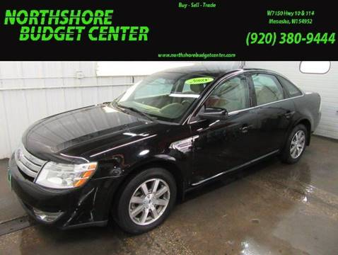 2008 Ford Taurus for sale at Northshore Budget Center, LLC in Menasha WI