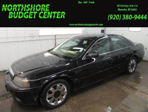 2004 Lincoln LS for sale at Northshore Budget Center, LLC in Menasha WI