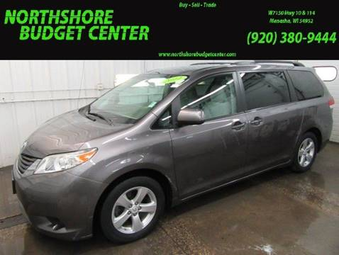 2011 Toyota Sienna for sale at Northshore Budget Center, LLC in Menasha WI