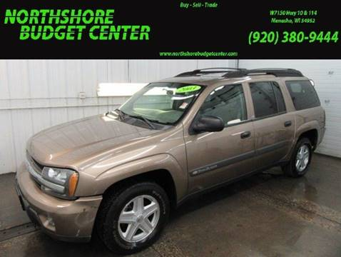2003 Chevrolet TrailBlazer for sale at Northshore Budget Center, LLC in Menasha WI