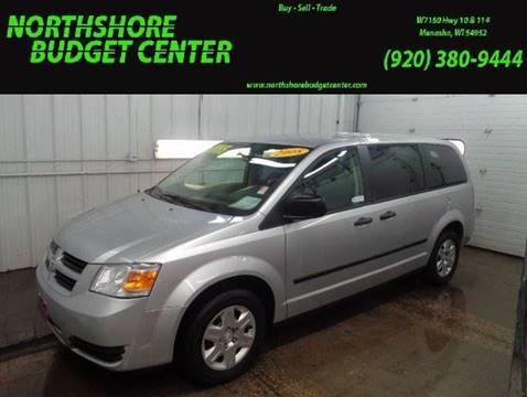 2008 Dodge Grand Caravan for sale at Northshore Budget Center, LLC in Menasha WI