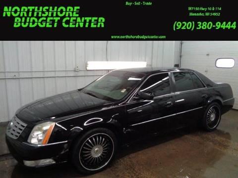 2008 Cadillac DTS for sale at Northshore Budget Center, LLC in Menasha WI