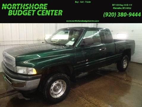 2001 Dodge Ram Pickup 1500 for sale at Northshore Budget Center, LLC in Menasha WI