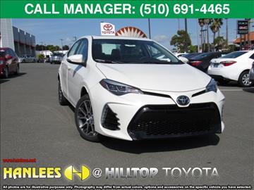 2017 Toyota Corolla for sale in Richmond, CA