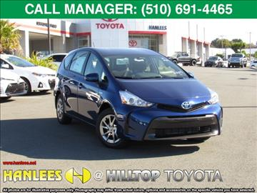 2017 Toyota Prius v for sale in Richmond, CA