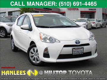 2013 Toyota Prius c for sale in Richmond, CA