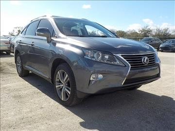 2015 Lexus RX 350 for sale in Jacksonville, FL
