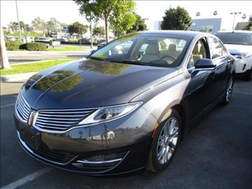 2014 Lincoln MKZ for sale in Los Angeles, CA