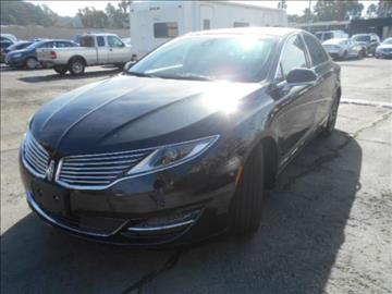 2015 Lincoln MKZ for sale in Los Angeles, CA