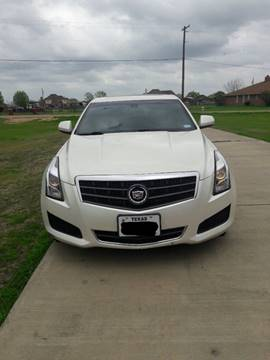 2013 Cadillac ATS for sale in Seagoville, TX