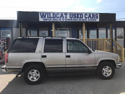 1999 GMC Yukon for sale in Somerset, KY