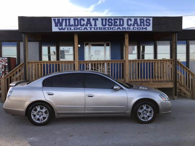 2005 Nissan Altima 25 S 4dr Sedan In Somerset Ky Wildcat Used Cars