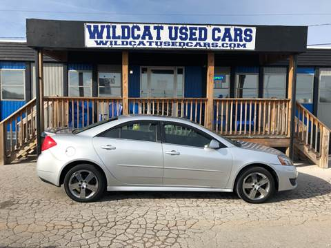 2010 Pontiac G6 for sale at Wildcat Used Cars in Somerset KY