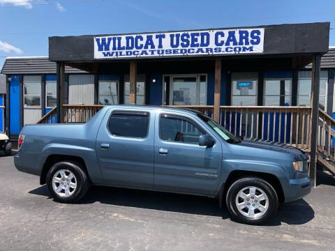 2008 Honda Ridgeline for sale at Wildcat Used Cars in Somerset KY