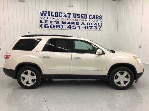 2008 GMC Acadia for sale at Wildcat Used Cars in Somerset KY