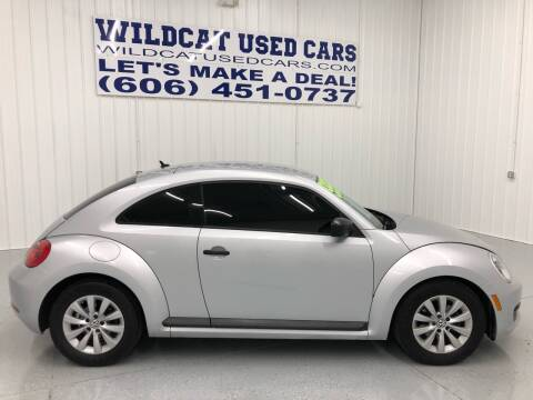 2013 Volkswagen Beetle for sale at Wildcat Used Cars in Somerset KY