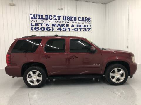 2008 Chevrolet Tahoe for sale at Wildcat Used Cars in Somerset KY