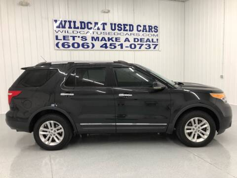 2013 Ford Explorer for sale at Wildcat Used Cars in Somerset KY