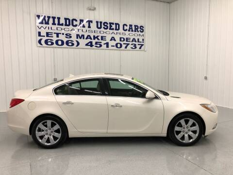 2012 Buick Regal for sale at Wildcat Used Cars in Somerset KY