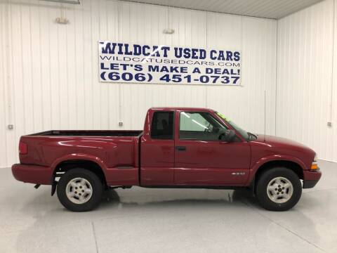 2003 Chevrolet S-10 for sale at Wildcat Used Cars in Somerset KY