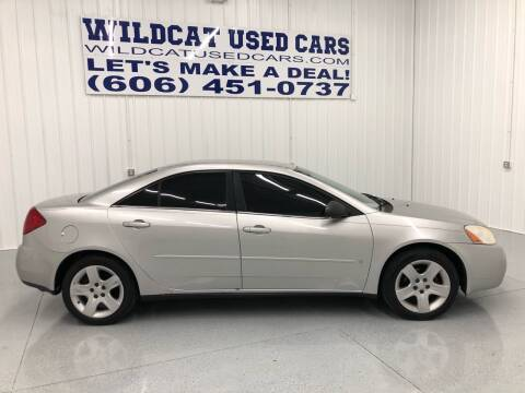 2007 Pontiac G6 for sale at Wildcat Used Cars in Somerset KY