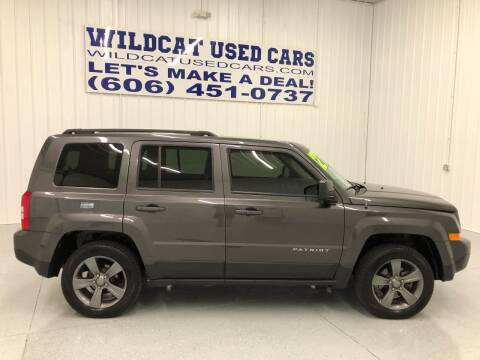 2015 Jeep Patriot for sale at Wildcat Used Cars in Somerset KY