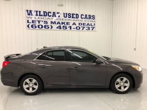 2013 Chevrolet Malibu for sale at Wildcat Used Cars in Somerset KY