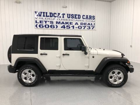 2008 Jeep Wrangler Unlimited for sale at Wildcat Used Cars in Somerset KY