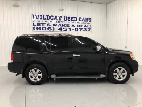 2012 Nissan Armada for sale at Wildcat Used Cars in Somerset KY