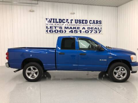 2008 Dodge Ram Pickup 1500 for sale at Wildcat Used Cars in Somerset KY