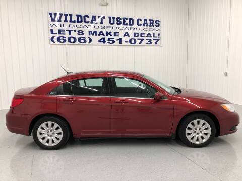 2014 Chrysler 200 for sale at Wildcat Used Cars in Somerset KY
