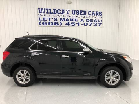 2013 Chevrolet Equinox for sale at Wildcat Used Cars in Somerset KY