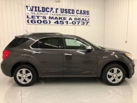2015 Chevrolet Equinox for sale at Wildcat Used Cars in Somerset KY
