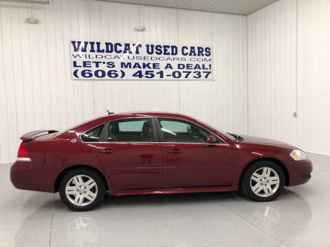 2011 Chevrolet Impala for sale at Wildcat Used Cars in Somerset KY