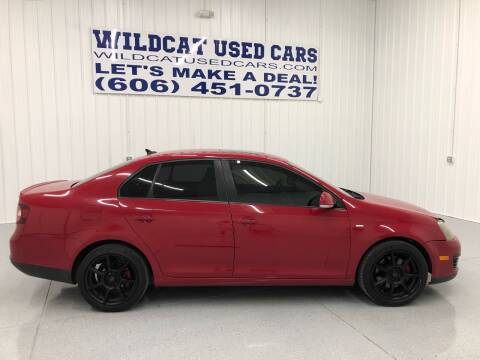 2010 Volkswagen Jetta for sale at Wildcat Used Cars in Somerset KY